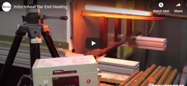 Inductoheat Bar End Heating System